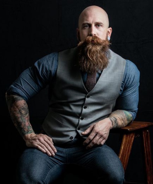 los mejores tipos de barba para hombres calvos alpel. Black Bedroom Furniture Sets. Home Design Ideas