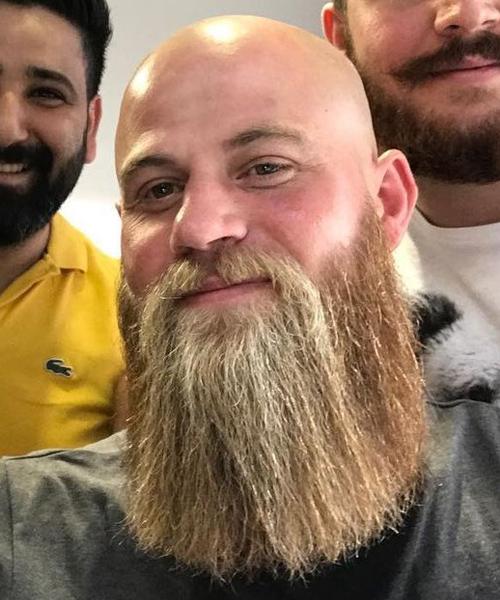 Los mejores tipos de barba para hombres calvos - Alpel b33cae1d404d