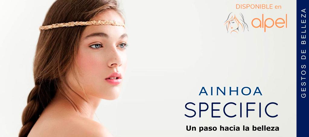 Ainhoa Specific - tratamientos faciales de cosmética profesional