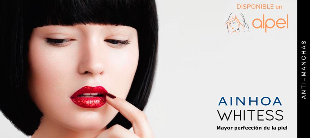 Ainhoa Whitess - tratamientos faciales de cosmética profesional