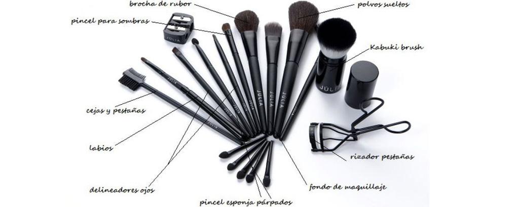 Estuches de Pinceles, Mantas de Pinceles y Brochas de Maquillaje