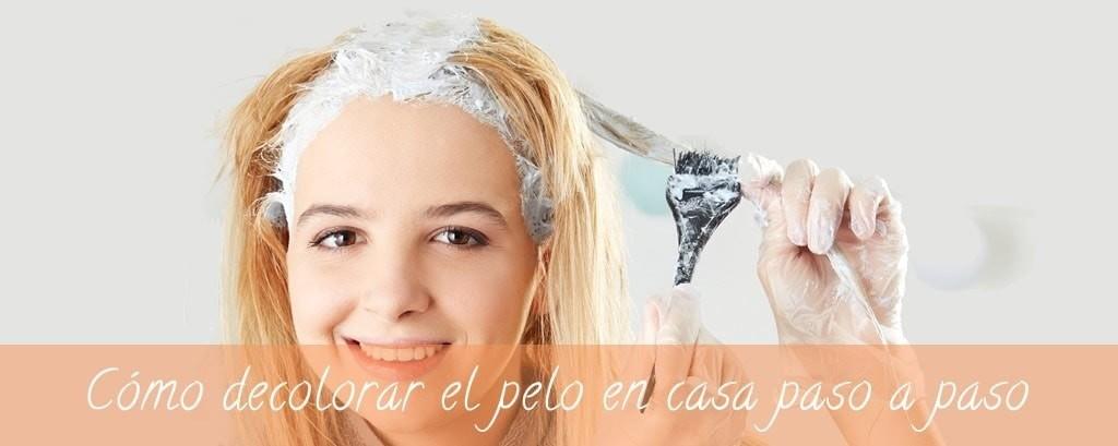 Decolorar el cabello en casa