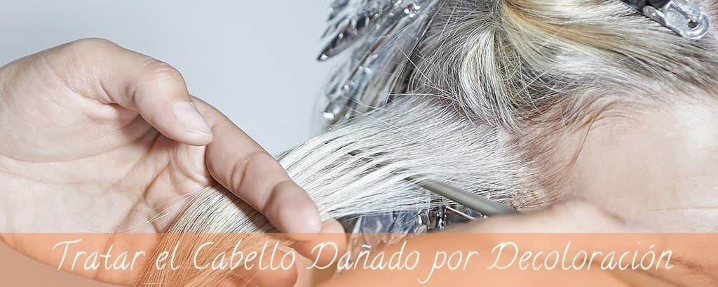 Cómo tratar el cabello dañado por decoloración