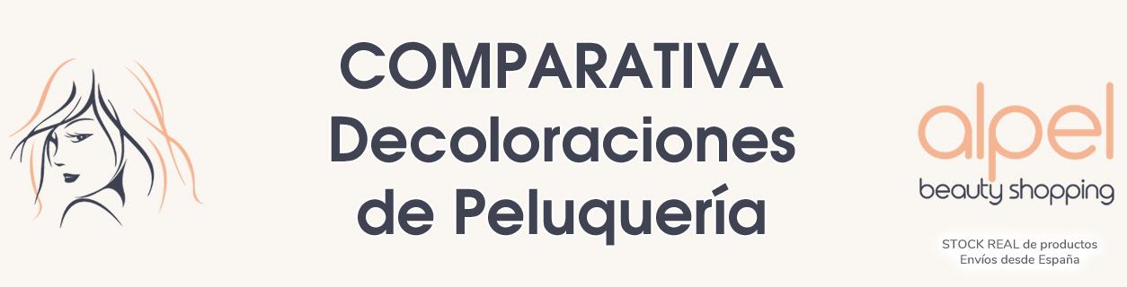 Aquí te mostramos una comparativa de las decoloraciones de peluquería profesional más utilizadas en la actualidad.