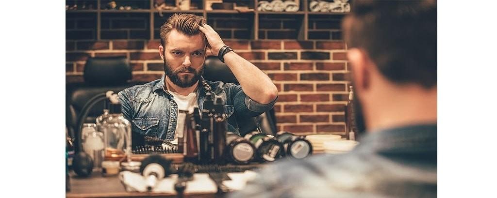 CUIDADO de la BARBA barbería masculina, productos de barbería