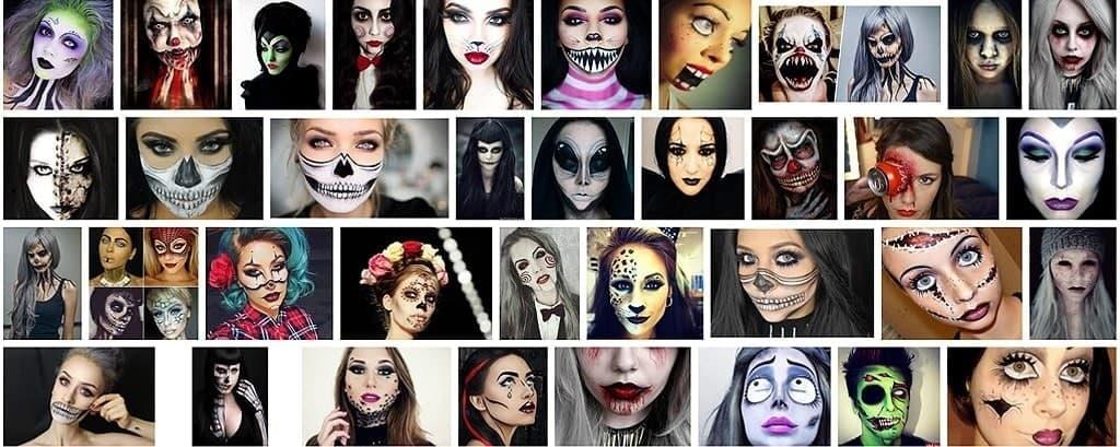 Ideas de maquillaje para Halloween sencillas con vídeos paso a paso