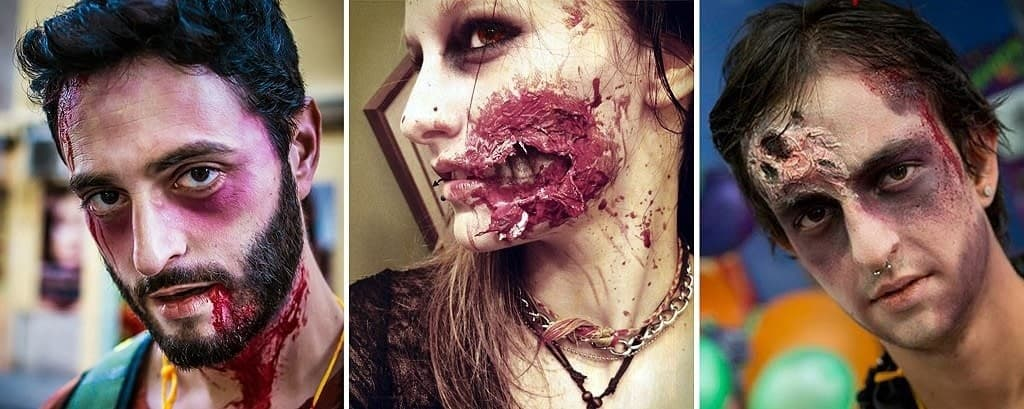 Ideas de maquillaje zombie fácil