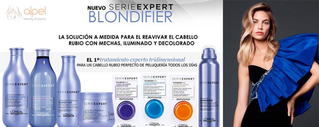 L´Oreal Professionnel Blondifier: Cabello rubio perfecto de peluquería todos los días