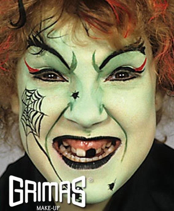 maquillaje de bruja sencillo - Maquillaje Bruja