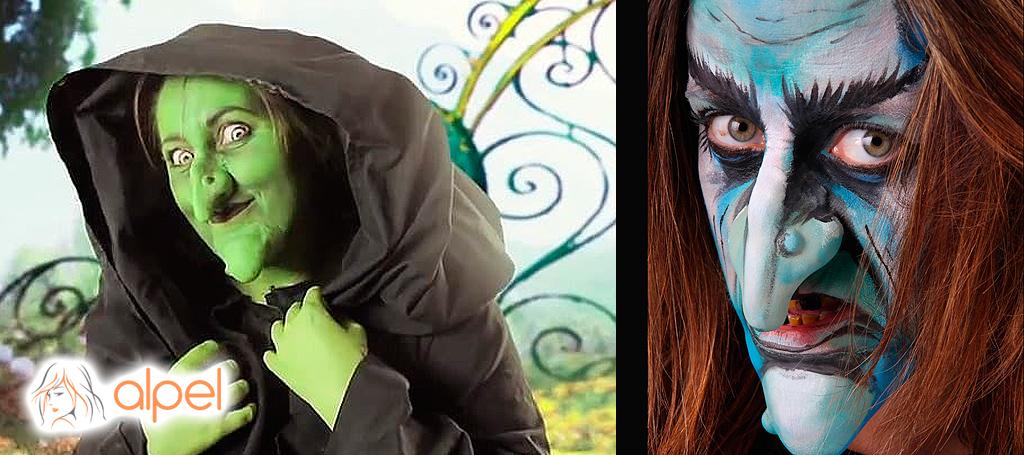 Maquillaje Bruja: Ideal para Halloween o Carnaval