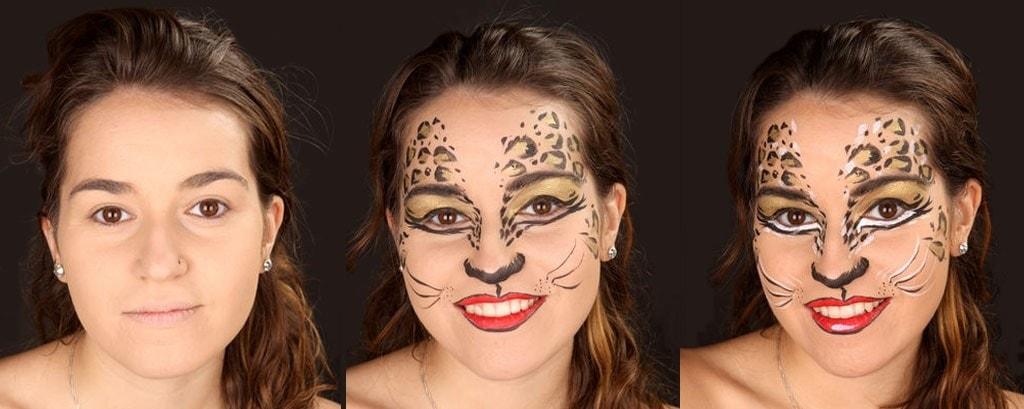 Maquillaje de Leopardo: Paso a paso