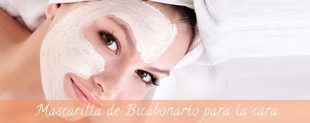 Mascarilla de bicarbonato para cabello