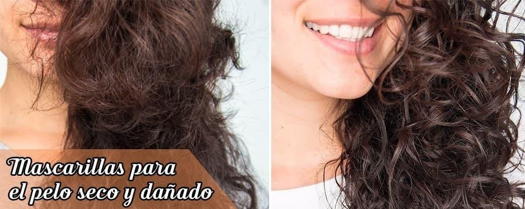 Tratamientos para cabellos secos. Mascarillas para pelo seco