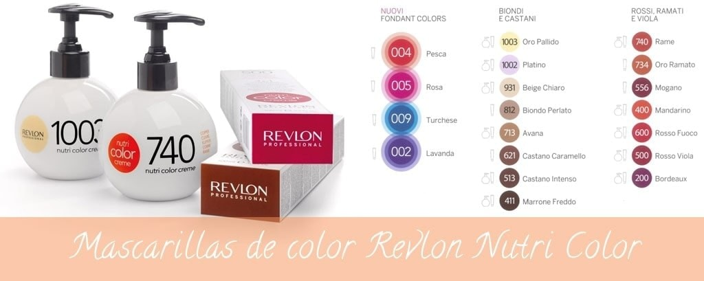Mascarilla de color Nutri Color Creme de Revlon Professional