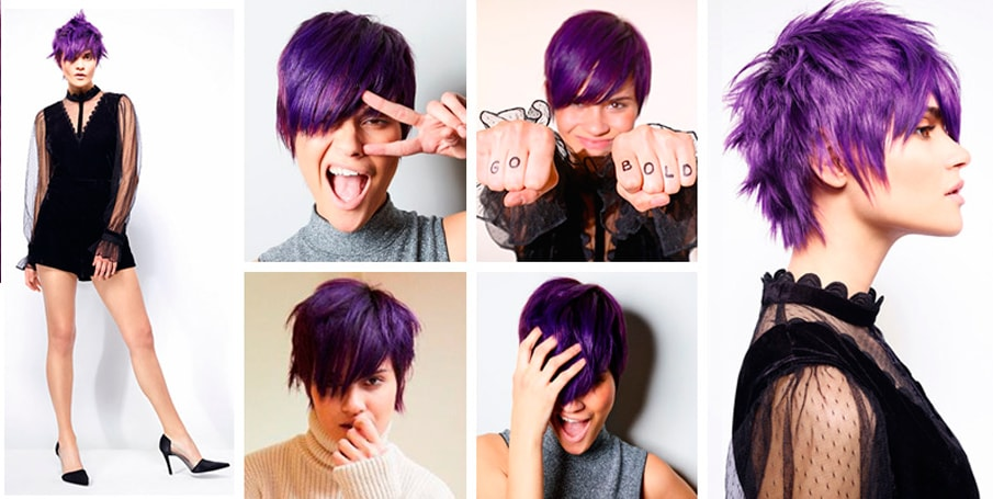 Look Purple con Schwarzkopf Bold Color