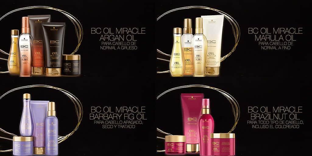 Schwarzkopf Professional BC Bonacure Oil Miracle - productos Schwarzkopf de peluquería