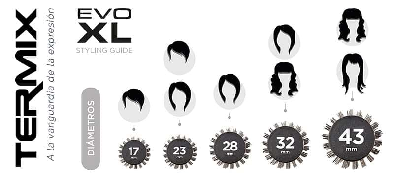 ¿Qué diámetro de cepillo es adecuado para tu cabello?
