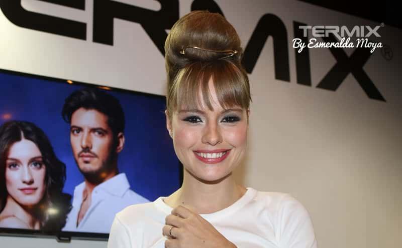 La Actriz Esmeralda Moya Es Fan Incondicional De La Marca Termix