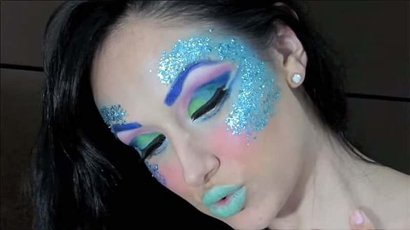 Ideas para maquillaje de Carnaval con tutoriales y ejemplo paso a paso