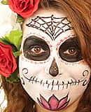 Tutorial Fx Caracterización: Maquillaje Katrina Brillante Para Halloween - Grimasspain
