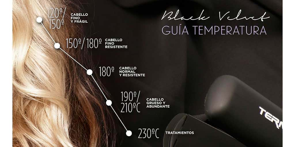 ¿A qué temperatura se debe planchar el cabello? - Consejos Alpel