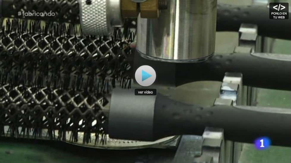 Termix Nos Enseña Cómo Fabrica Sus Cepillos En Fabricando Made In Spain