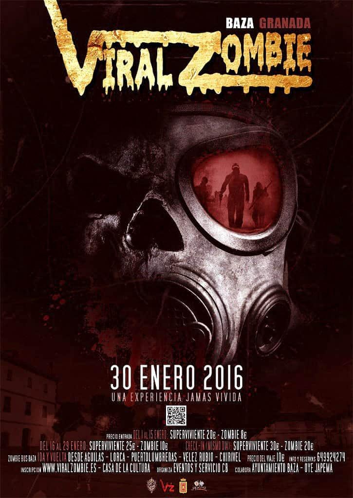 El Evento Viralzombie Se Desplaza A Baza En granada El Próximo 30/01/2016