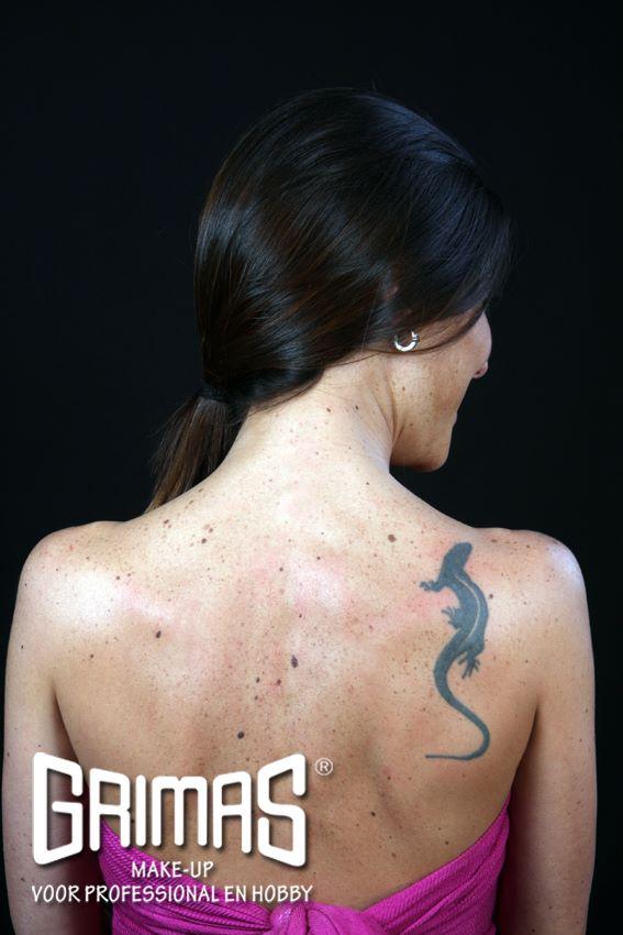 Tutorial para tapar un tatuaje con maquillaje profesional - Alpel
