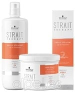 PACK SCHWARZKOPF STRAIT THERAPY ALISADO CABELLO NATURAL