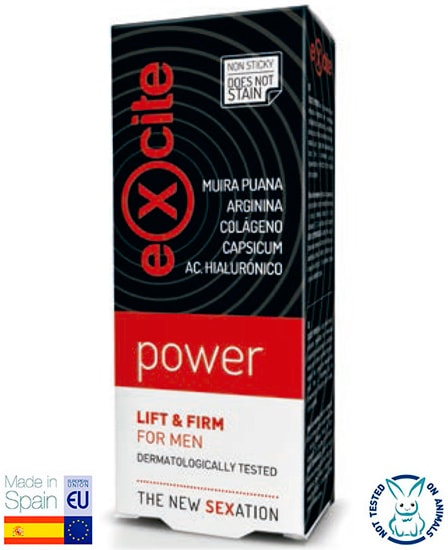 Comprar Estimulante Excite Power Lift & Firm For Men online en la tienda Alpel