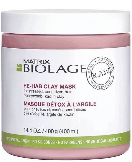 Matrix Biolage RAW Re-Hab Clay Mask - Precio barato Alpel