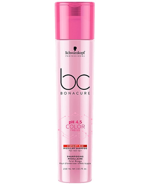 Comprar Schwarzkopf Bonacure Color Freeze Vibrant Red Champú 250 ml online en la tienda Alpel