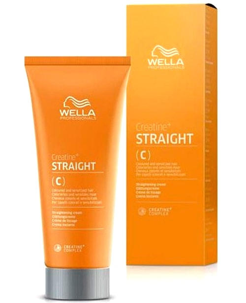 Comprar la crema alisadora Wella Straightening Cream 200 ml Cabellos Coloreados en la tienda Alpel