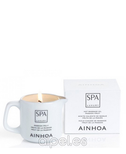 Comprar Ainhoa Spa Luxury Vela Masaje Fruta De La Pasion 80 gr online en la tienda Alpel