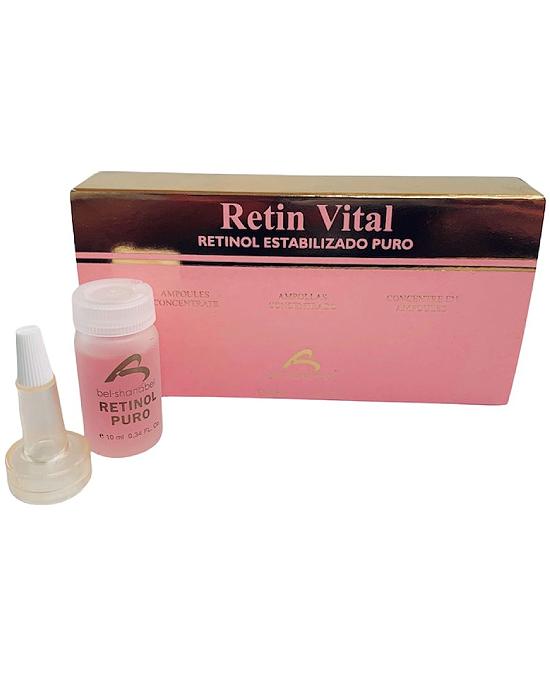 Comprar Bel-Shanabel Retin Vital Biologico Retinol Puro 4 X 10 ml online en la tienda Alpel