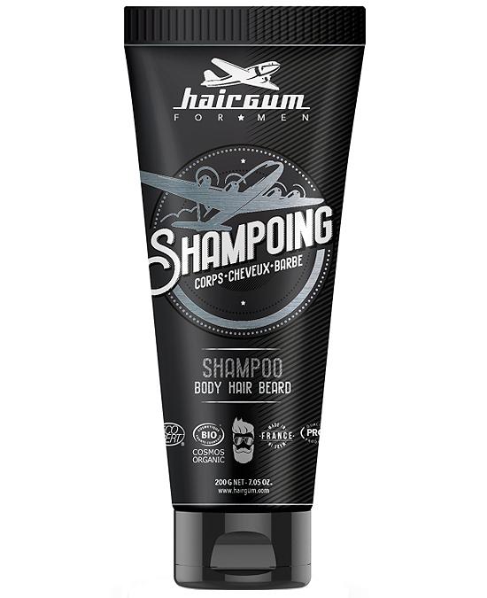 Comprar Champú 3 en 1 Barba Cabello Cuerpo Hairgum Men online en la tienda de Alpel
