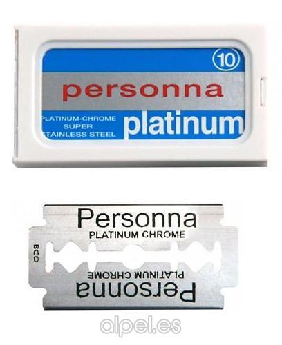 Comprar Hoja / Cuchilla Afeitar Personna Platinum 10 Unid online en la tienda Alpel