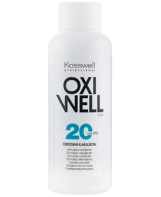 Comprar Kosswell Oxiwell 20 Vol 75 ml online en la tienda Alpel