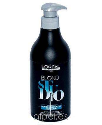 Comprar L´Oreal Blond Studio Champú Post-Lightening 500 ml online en la tienda Alpel