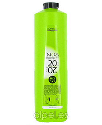 Comprar L´Oreal Inoa Oxidant 1+1 Mix 20 Vol 1000 ml online en la tienda Alpel