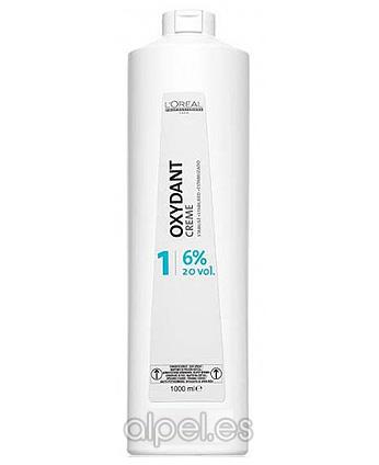 Comprar L´Oreal Oxidante Crema 20 Vol 1000 ml online en la tienda Alpel