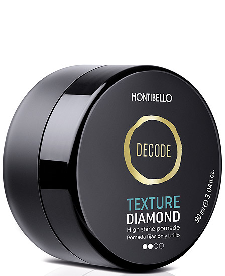 Montibello Decode Texture Diamond Pomada Fijación y Brillo 90 ml