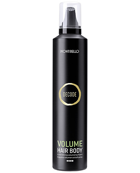 Montibello Decode Volume Hair Body Espuma Volumen Extrafuerte 300 ml
