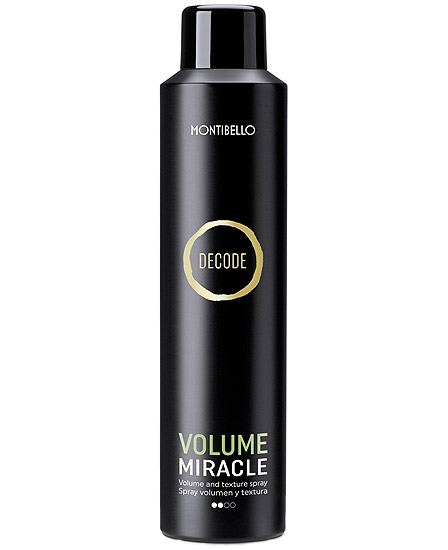 Montibello Decode Volume Miracle Spray Volumen y Textura 250 ml