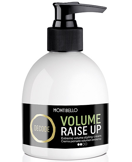 Montibello Decode Volume Raise Up Crema Peinado Volumen Extremo 200 ml