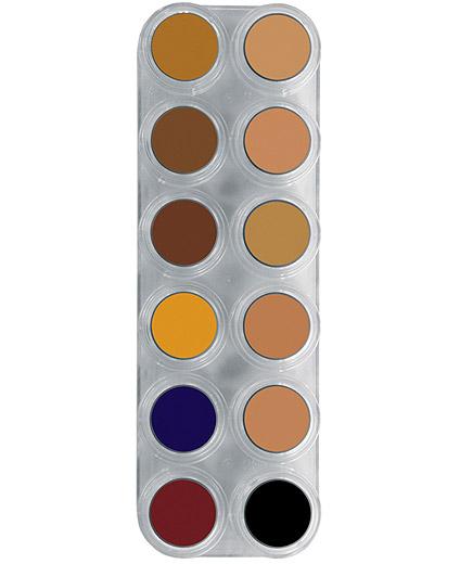 Comprar Paleta Maquillaje 12 Correctores Grimas 12 CB online en la tienda Alpel