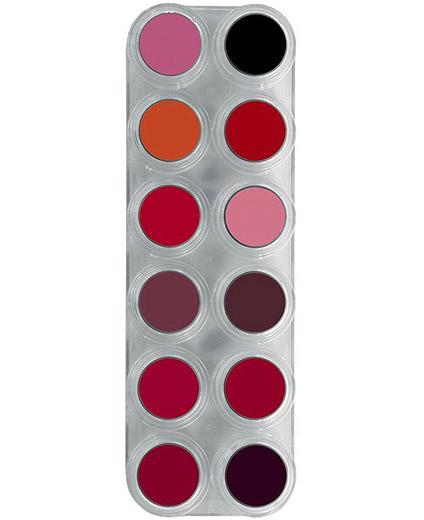 Comprar Paleta Maquillaje 12 Labios Lipstick Grimas 12 LF online en la tienda Alpel