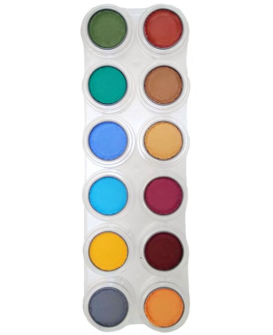 Comprar Paleta Maquillaje 12 Maquillajes Al Agua Grimas 12 B online en la tienda Alpel