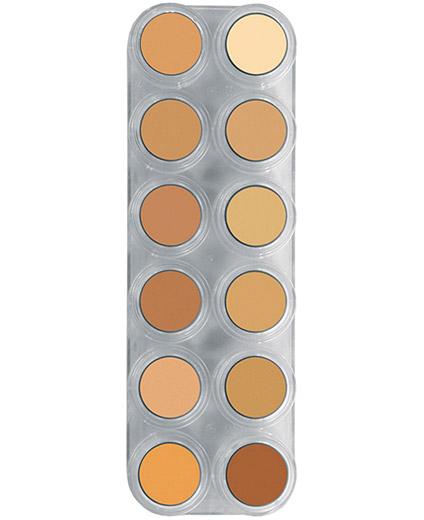 Comprar Paleta Maquillaje 12 Maquillajes En Crema Grimas 12 V online en la tienda Alpel
