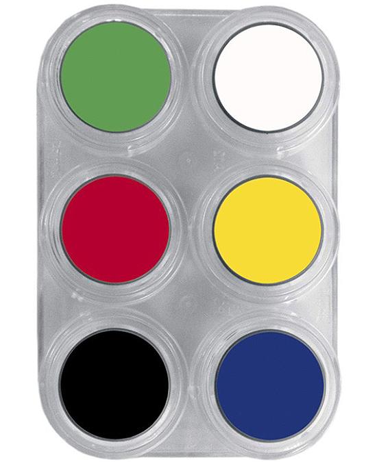Comprar Paleta Maquillaje 6 Maquillajes Al Agua Grimas online en la tienda Alpel